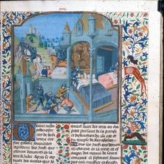 Guyart des Moulins, La Bible Historiale, part 4 (Bible Historiale of Edward IV)   Netherlands, S. (Bruges); 1470 and c. 1479  British Library - Royal 15 D I