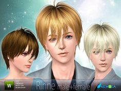 """""""Rinne"""" by Newsea.  Subscriber only.  Male or Female for all ages."""