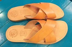 You may see some variation in the color,some little scars on the leather and fluctuations in thickness,because every piece of leather is unique,and of course every pair of sandals is unique! Also, the natural leather,with the time and with the exposure in the sun,you will notice a change in the color, a more tan darker shade,which believe me is awesome! | eBay!