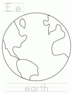 Planets Preschool, Kindergarten Science Activities, Space Preschool, Earth Day Activities, Preschool Prep, Library Activities, Alphabet Activities, Kid Activities, Preschool Crafts