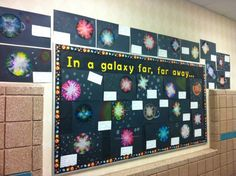 Use coffee filters and have students create their own planets and maybe write about what characteristics the planet would have...try and do this after they finish the solar system unit in science.