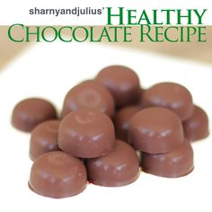 Healthy Chocolate Recipe from the book Healthy Junk