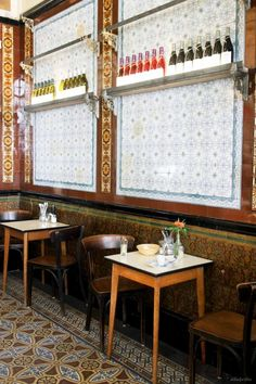 Lamuri: Italian breackfast/lunch.  Unique and lovely idea for  restaurant interior style. Köpenicker Strasse 183 - KREUZBERG (next to the river Spree)