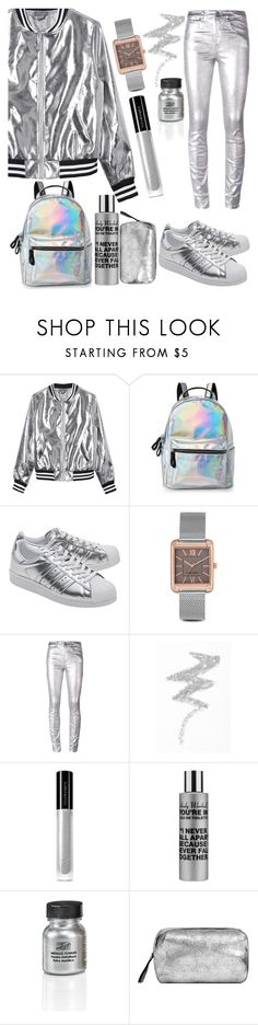 """My silver metallic... MESS..."" by moni-ballerina ❤ liked on Polyvore featuring Sans Souci, IMoshion, adidas Originals, Nine West, Étoile Isabel Marant, NYX, Illamasqua, Comme des Garçons and MANGO"