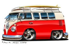 vw bus cartoon pictures | High Desert Vee-Dub Club News