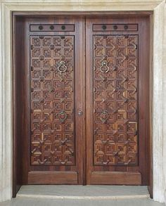 Are you looking for the best wooden doors for your home that suits perfectly? Then come and see our new content Wooden Main Door Design Ideas. Main Entrance Door Design, Wooden Front Door Design, Double Door Design, Wooden Front Doors, Home Door Design, Pooja Room Door Design, Door Design Interior, Interior Doors, Beautiful Front Doors