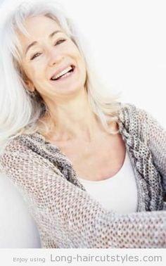 Best Long Hairstyles for Older Women 2013 cute