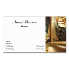 Harp Business Card