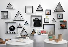 What We Saw: At the London Design Festival, Part IV  #geometric #shelf http://www.sightunseen.com/2012/09/at-the-london-design-festival-part-iv