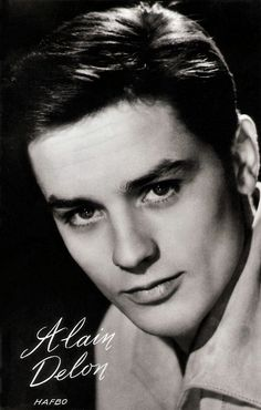 hollywood actor Dutch postcard by Muziekparade, Hilversum, no. In the late and early Alain Delon was the breathtakingly good-looki Hollywood Men, Old Hollywood Stars, Hollywood Celebrities, Vintage Hollywood, Classic Hollywood, Male Celebrities, Alain Delon, Michelangelo Antonioni, Luchino Visconti