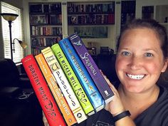 My newest YouTube video is up now: the Rainbow Spines Book Tag! Copy and paste this link to watch - https://youtu.be/I0es4P8RdLo • • • • #books #booktube #booktuber #instabook #youtube #youngadult #ya #fiction #bookstagram #youngadultbooks #daniellepaige #bookworm #bookblogger #📚 #📖