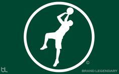 Legendary Swish Icon Green Wallpaper