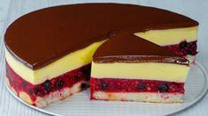 Cake Decorating Videos, Sweet Cakes, Chocolates, Cheesecake, Berries, Deserts, Cherry, The Creator, Pudding