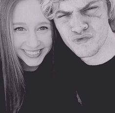 American Horror Story - Taissa Farmiga and Evan Peters