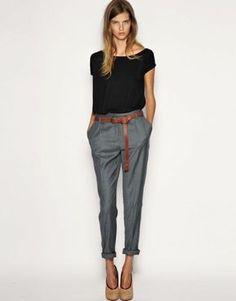 Dieser Style wäre sogar auf einer Fashion-Show zu sehen. Wir finden den Look casual & einfach cool!