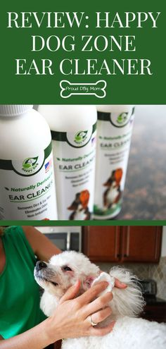 Review: Happy Dog Zone Ear Cleaner   Dog Ear Cleaner   Dog Products   Dog Care  