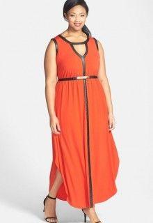 nordstrom keyhole maxi dress