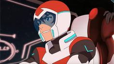 Keith pilots the Red Lion from Voltron Legendary Defender