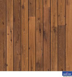 Vintage oak dark varnished, shipdeck - Quick-Step