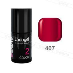 Lakier hybrydowy Lacogel nr 407 - malinowy 7ml #lacogel #elarto #malinowy