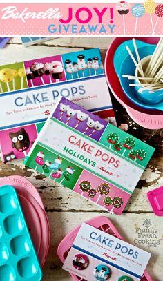 BIG Bakerella *Cake Pops* Giveaway on Family Fresh Cooking blog #cakepops
