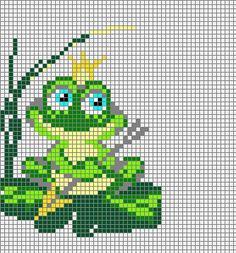 Фауна : формат dbb и jbb : Схемы для вязаных чехлов для телефонов и сумочек : Файлы : jbead Hama Beads Patterns, Beading Patterns, Crochet Patterns, Cross Stitch Charts, Cross Stitch Embroidery, Pixel Crochet Blanket, Frog Crafts, Christmas Ornament Crafts, Betty Boop