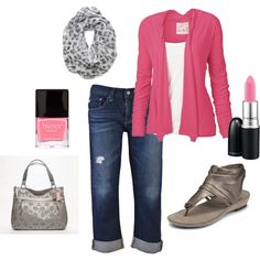 Think Pink for Spring, created by susieq503 on Polyvore