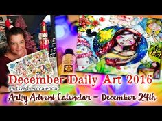 Artsy Advent Calendar – Week 3 and Merry Christmas » Cre8tive Cre8tions by Andrea Gomoll