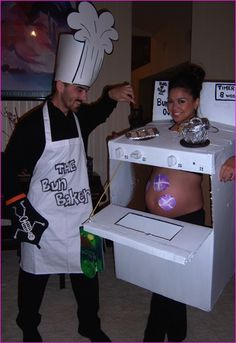 "when im pregnant wade and i should do this, but he'll be the ""ginger bread man""…"