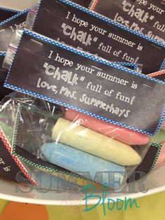 Summer Bloom: Teach. Create. Party: Welcome Summer!! I hope your summer is CHALK full of fun FREEBIE!