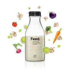 Feed est une foodtech qui conçoit des smart food vous fournissant 100% de vos besoins. Superfood fabriquée en France, vegan, sans gluten, sans lactose, sans OGM