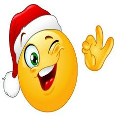 Illustration about Winking emoticon wearing Santa hat. Illustration of emoji, illustration, celebration - 21663656 Smiley Emoticon, Emoticon Faces, Smiley Faces, Christmas Emoticons, Santa Hat Vector, Naughty Emoji, Funny Emoticons, Emoji Symbols, Nouvel An