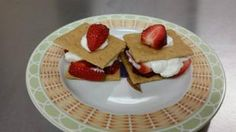 Strawberry S'mores--Perfect after school snack