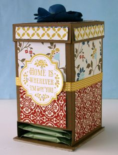 Li'l Buck's Creations: Comfort Cafe Tea Bag Holder