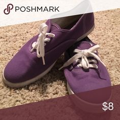 Purple skate shoes Purple vans/ked like shoes from Aldo. Worn once Aldo Shoes Sneakers