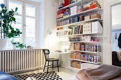 Bilder, Vardagsrum, Arbetsrum, Bokhylla, Skrivbord, Stol, Bibliotek - Hemnet…
