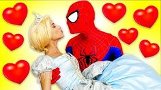 Are Frozen Elsa & Superman Married? Spiderman VS Maleficent & Joker Wedding Conspiracy - YouTube