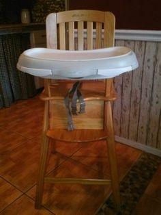 Eddie Bauer High Chair | wooden