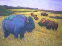 Original Art Work By Julia Lucich ~~ Party Animals Gallery