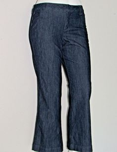 Sailor Style Jeans Stretch Denim Size 16P Wide Leg by Sonoma NEW w/o Tags Petite #Sonoma #WideLeg