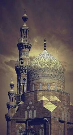 Khair Bey Mosque, Old Cairo, Egypt