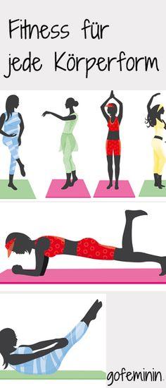 Die besten Fitness-Übungen für jeden Figurtyp