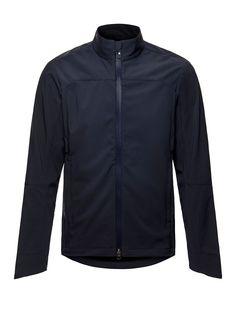 Vulpine - Men's Softshell Merino Jacket in Dark Navy Bike Wear, Softshell, Dark Navy, Pure Products, Jackets, How To Wear, Fashion, Down Jackets, Moda
