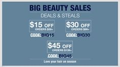 Big Beauty Sales Up to $45 OFF Hurry up: http://www.abhair.com/big-beauty-sale
