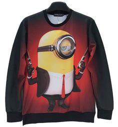 Awesome Minion Sweatshirt.