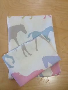Horses Cot Bed Duvet & Pillowcase Set.100% Cotton in Baby, Nursery Bedding, Nursery Bedding Sets | eBay