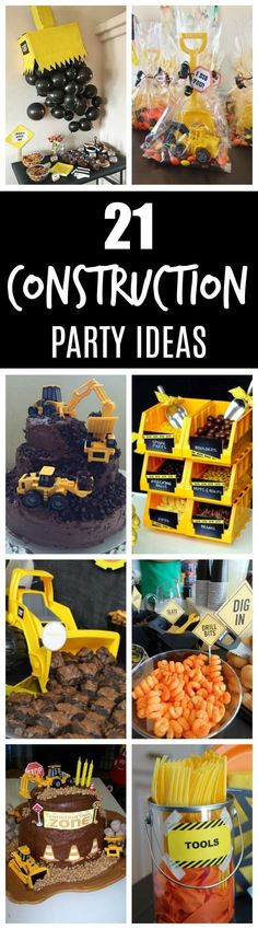 21 Construction Birthday Party Ideas | PRETTY MY PARTY