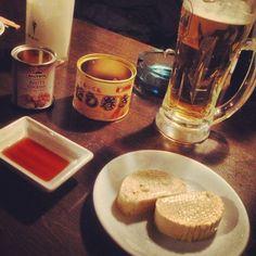[缶詰Bar❷2013/03/02]     だし巻きの缶詰(✽′Ȝ‵✽)◞         @mr.kanso 西新宿店