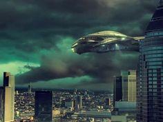 Fantasy Science Fiction Forward Ufo Spaceship
