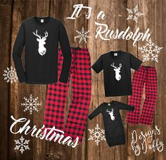 Family Christmas pajamas are must have for the holiday season! Our Exclusive designs will make everyone in the family happy on Christmas morning! **PLEASE READ ALL OF THE INFO BELOW TO MAKE SURE YOU ARE ORDERING THE CORRECT SET OF PAJAMAS AND UNDERSTAND THE PRICING OPTIONS! **
